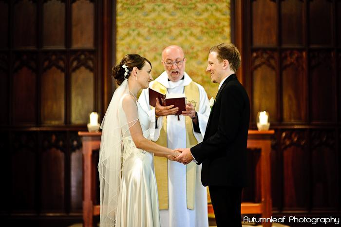 Frances & Bradley's Wedding - Wedding Service