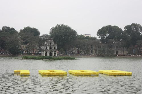 Park around Hoan Kiem Lake