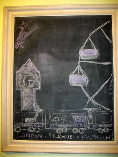 BCC Blackboard: trip art