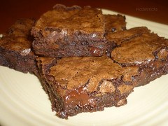 Chewy Gooey Fudgy Brownies! (steamboatwillie33) Tags: dessert baking bars chocolate delicious chunks brownies gooey fudgy