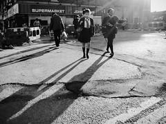 Summertime (Ian Brumpton) Tags: street england bw london blancoynegro monochrome blackwhite noiretblanc candid streetphotography streetportrait monotone londres summertime shadowplay streetscenes biancoenero peckham londonstreetphotography scattidistrada aimlessstrolling blackwhiteheartbeats