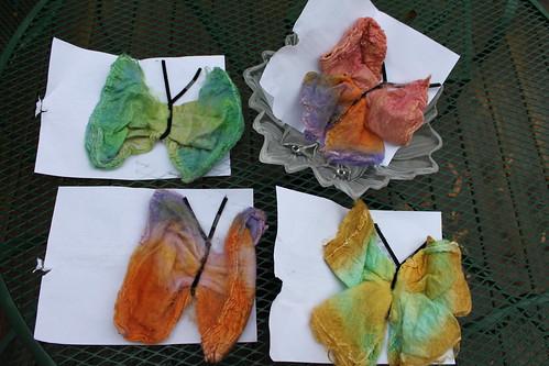 Silk Butterflies from Gale