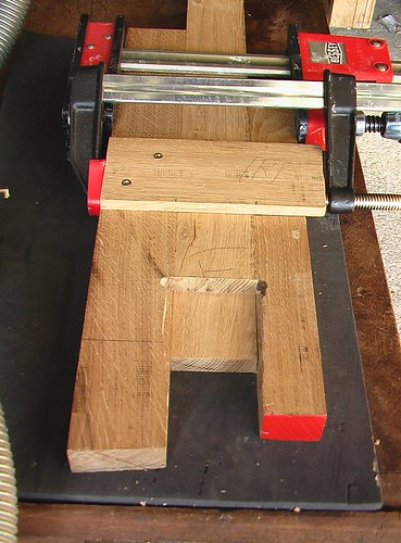 half-lap joint router jig