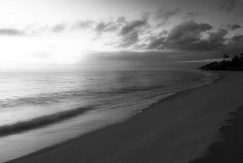 O mar onde o céu flutua...