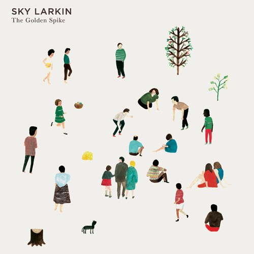 Design for Sky Larkin Album 'The Golden Spike' by Nous Vous
