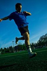 En el Aire (Lesteribf) Tags: football goal ftbol gol patada