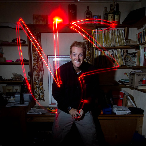 Jules light painting