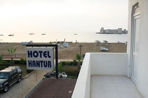 Hotel Hantur praia Kizkalesi Turquia