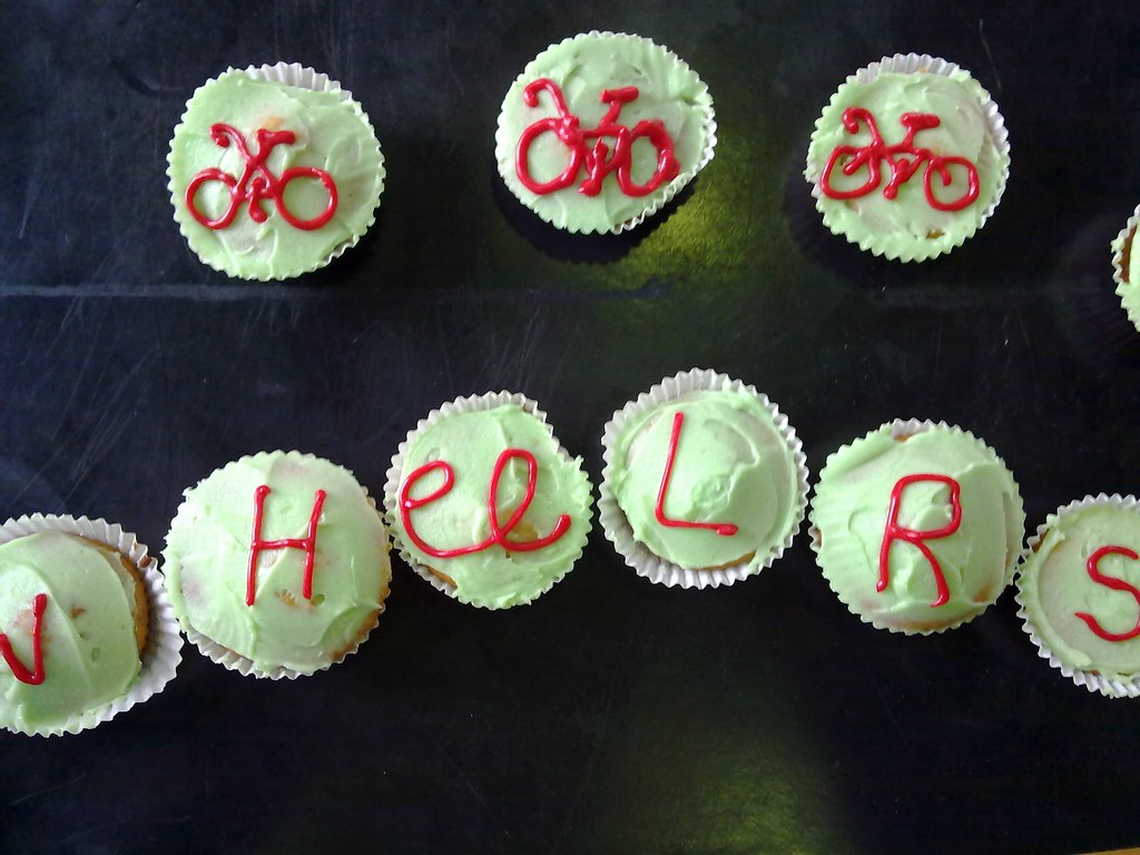 Cupcakes Take The Cake: 5 bike cupcakes in anticipation of tomorrow's ...
