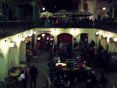 Covent Garden at night - 3 (Cybermyth13) Tags: city uk england people urban london night shopping dark evening darkness market shops coventgarden piazza westend wc2 londonist