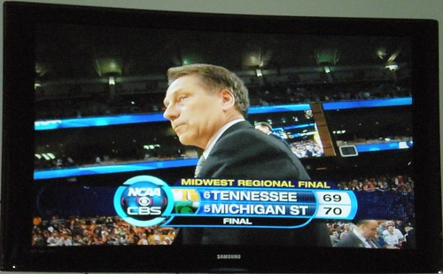 On to the Final Four for MSU and Coach Izzo