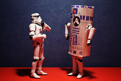 """I am the droid you're looking for..."" (Stfan) Tags: toy actionfigure starwars stormtroopers disguise r2d2 stormtrooper droid hasbro aprilfools notthedroid stormtroopers365 lifeonthedeathstar"