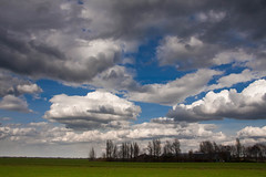 rain is coming today (drbob97) Tags: old blue sky rain clouds landscape is farm coming mygearandmepremium