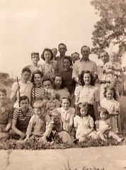 OLDEST HUFFSTUTTER REUNION PHOTO FOUND TO DATE... (roberthuffstutter) Tags: sisters faces brothers cousins bob harold mothers ann susie mycousins relatives irene judy aunts fathers picnik unclejim thelma uncles trenton 1946 familyties identities milwaukeeroad fondmemories grundycounty hotoffthepress northmissouri trentonmissouri huffstutter jimmyhuffstutter dunlapmissouri 1940s1960s jamesehuffstutter frankhuffstutter unclefrankandauntruby billmcdaniels huffstutterfamilyreunions huffstutterfamilyreunion mariettemcdaniels lenoreandhusband lenoreschildren huffstutterfamilyreunionphotos mysteryrelatives mysisternotinphoto haroldhuffstutter artandorphotosbyhuffstutter huffstutterfamilyphotos