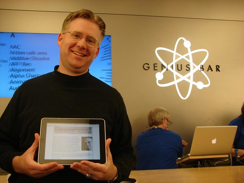 Wesley Fryer and the iPad by Wesley Fryer, on Flickr