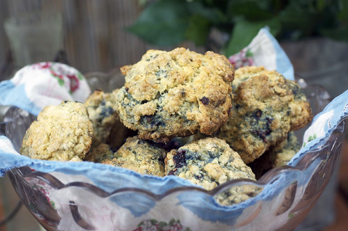 Oatmeal Blackberry Scones