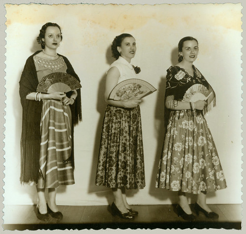 Three Women in costume