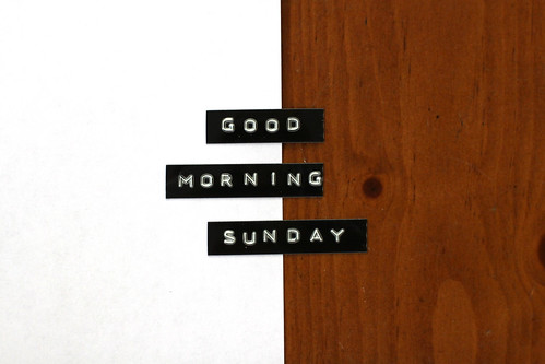good morning sunday :: 18APR10