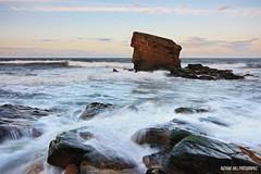 Whoseewatsit's Allotment (Azzmataz) Tags: old sunset sea seascape rock hall d tide northumberland sluice seaton hartley seastack a 2010 anthonyhallphotographic 2010adhall