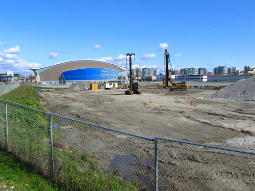 ASPAC real estate development land on the westide of the Richmond Olympic Oval, a legacy of the 2010 Olympic Games