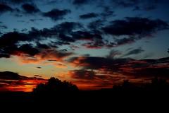 Darklands...,Mercogliano,(AV),Italy (modestino68) Tags: sunset red sky black clouds dark lights tramonto nuvole shadows ombre cielo luci rosso nero buio jesusandmarychain