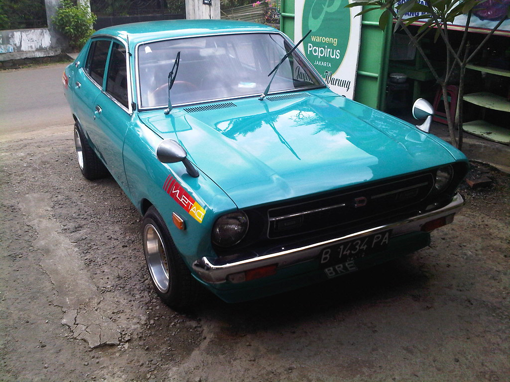 dapurpacu2016: Datsun 120 Y Modifikasi Images