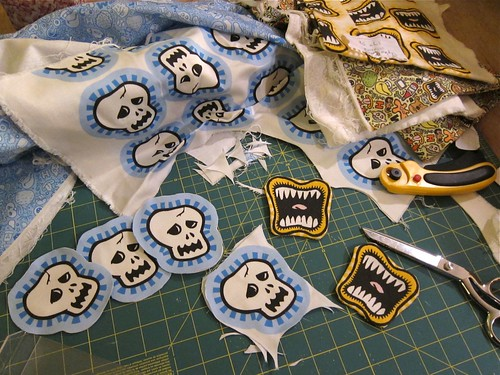 Stuffed Doodles in progress