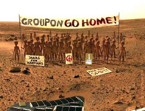 GROUPON GO HOME by Colonel Flick