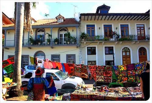 Casco Viejo Kuna market
