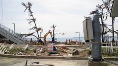 大谷海岸もすべて津波に流されたそうです。目に、心に、焼き付きます