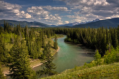 Carving its way (JoLoLog) Tags: trees canada mountains river alberta rockymountains hdr lorien kananaskiscountry canadianrockies kananaskisriver bowvalleyprovincialpark canonxsi aviewfromflowingwatertrail mygearandme mygearandmepremium mygearandmebronze mygearandmesilver mygearandmegold mygearandmeplatinum mygearandmediamond