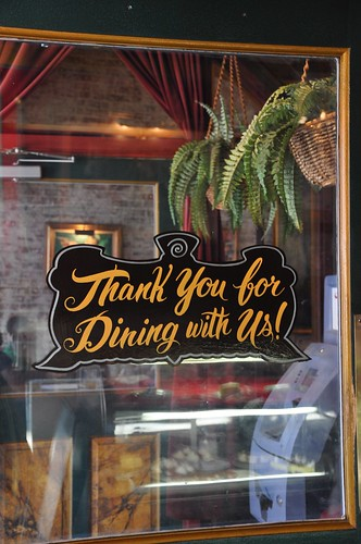 Thank You For Dining With Us - King's Palace Cafe