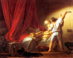 'The Bolt' Jean-Honor Fragonard, 1776-1778 (pheli) Tags: art painting 18thcentury 1776 rococo 1700s thebolt 1778 jeanhonorfragonard