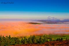 Orange flood (Kamil Malecki Photography) Tags: clouds orange blue mountains flood