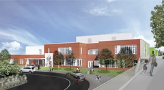 Exterior Rendering (front) (Seattle Public Schools) Tags: rems