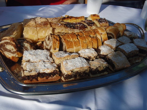 Various cakes in Austro-Hungarian tradition