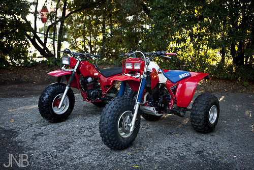 My 1985 Honda 200x and 350x
