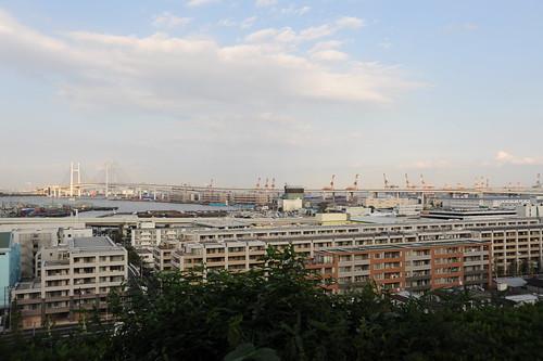 "A view from ""Minato no mieru oka Kouen"""