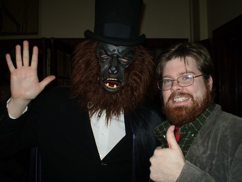 me with The Scarewolf
