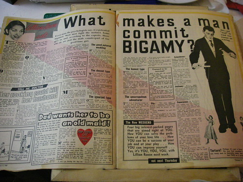 What makes a man commit bigamy?