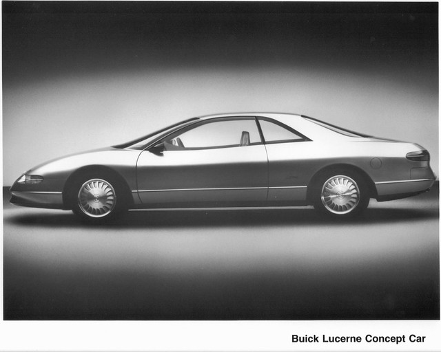 car advertising buick gm 1988 prototype concept lucerne presskit generalmotors