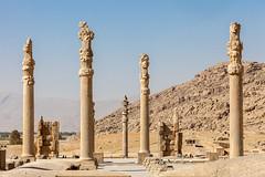 Persepolis (Erwin Bolwidt) Tags: monument persian ruins king iran pillar columns cyrus persepolis xerxes artaxerxes achaemenid darius dariush parsa kurosh cambyses