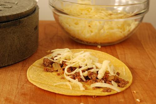 Green Chili Enchiladas - how to make