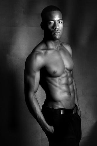 hot muscle black man sexy shirtless negro hunk