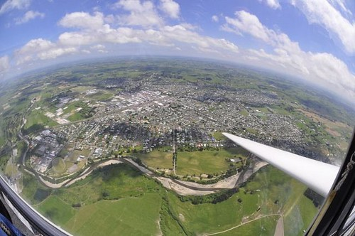 The perfect Gliding day at Feilding