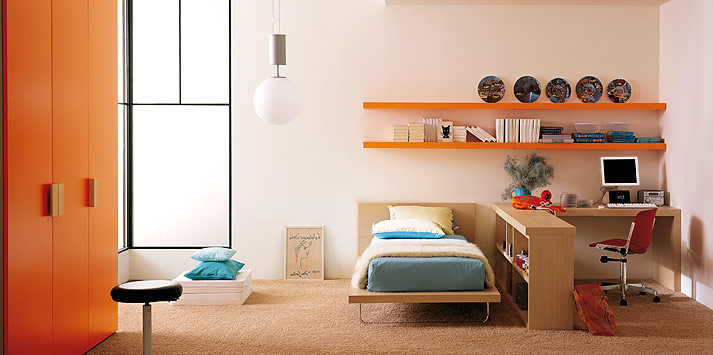 Stylish Teenagers Room by Clever
