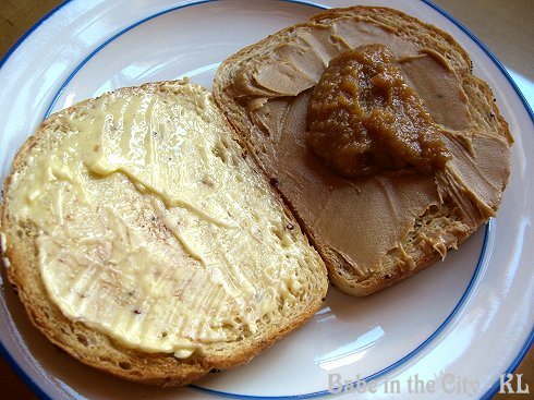 Butter, PB & Kaya Toasts