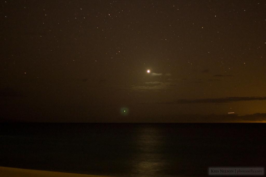 Venus over Maui