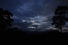 Nightfall over the hills (sumoworld) Tags: night clouds valparai anamalais sumoworld oneemc