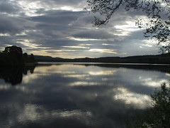 Sunrise (SWT Loch of Lowes) Tags: water dunkeld lochs